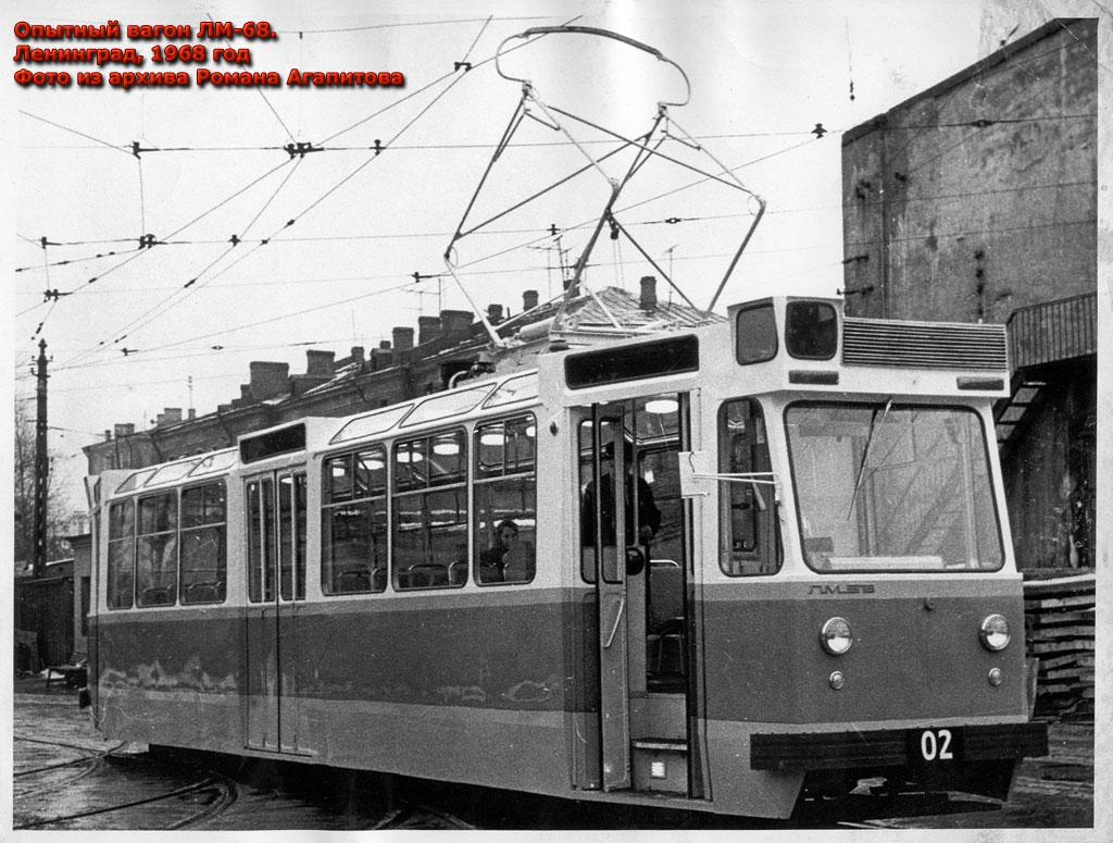 трамвай 68м схема